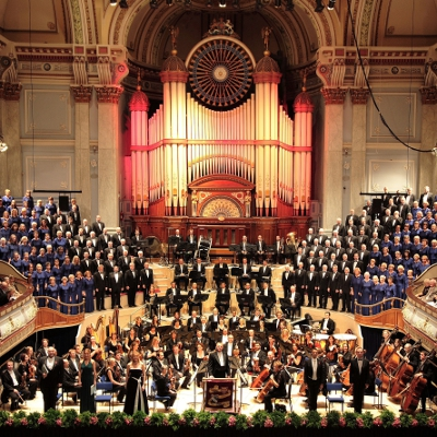 This concert is a celebration of Christmas, with the Huddersfield Choral Society and the Choral Society Junior choirs, conducted by Gregory Batsleer. They are joined by Black Dyke Band.On sale from Thursday 5th October