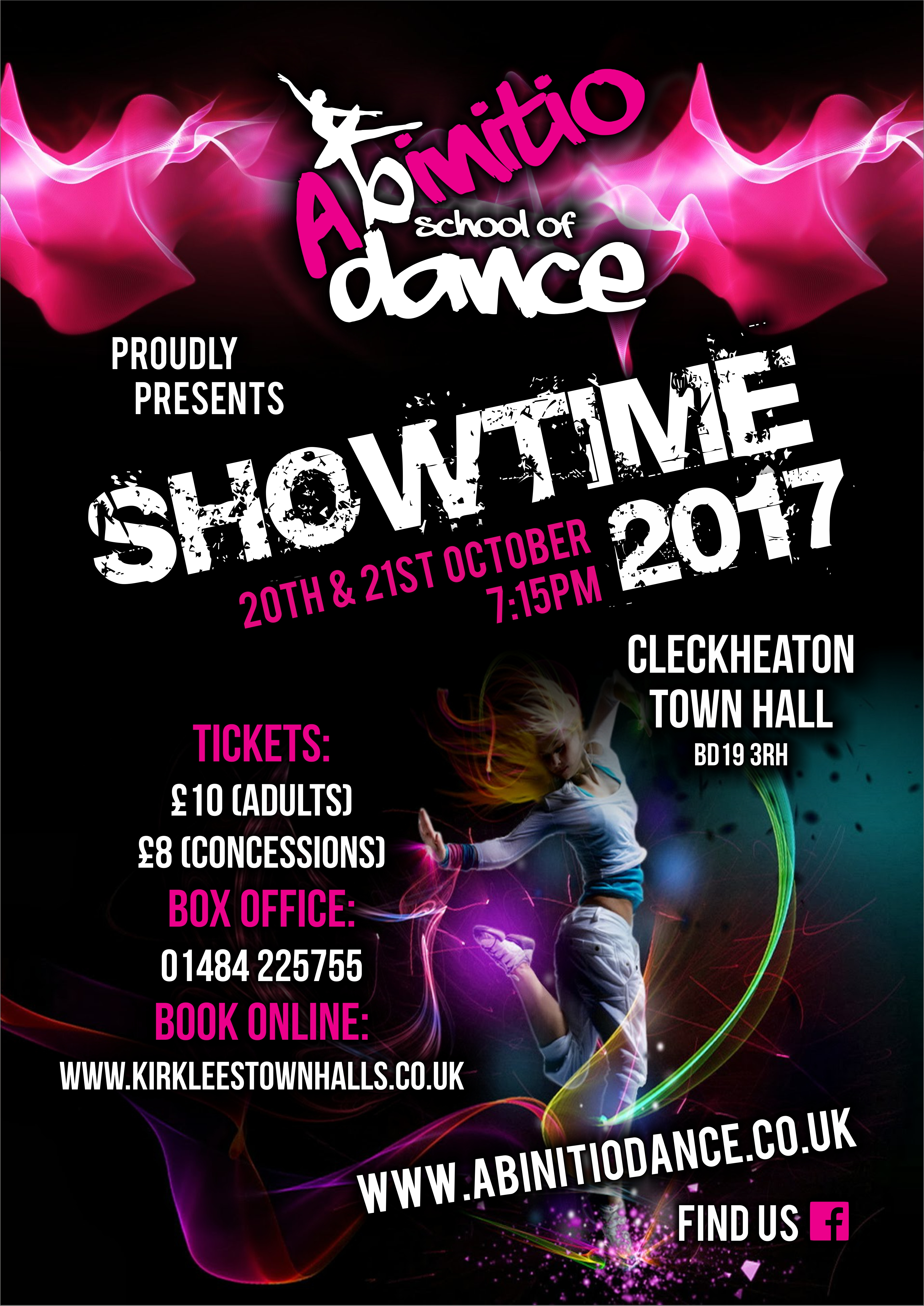 Abinitio School of Dance present SHOWTIME 2017