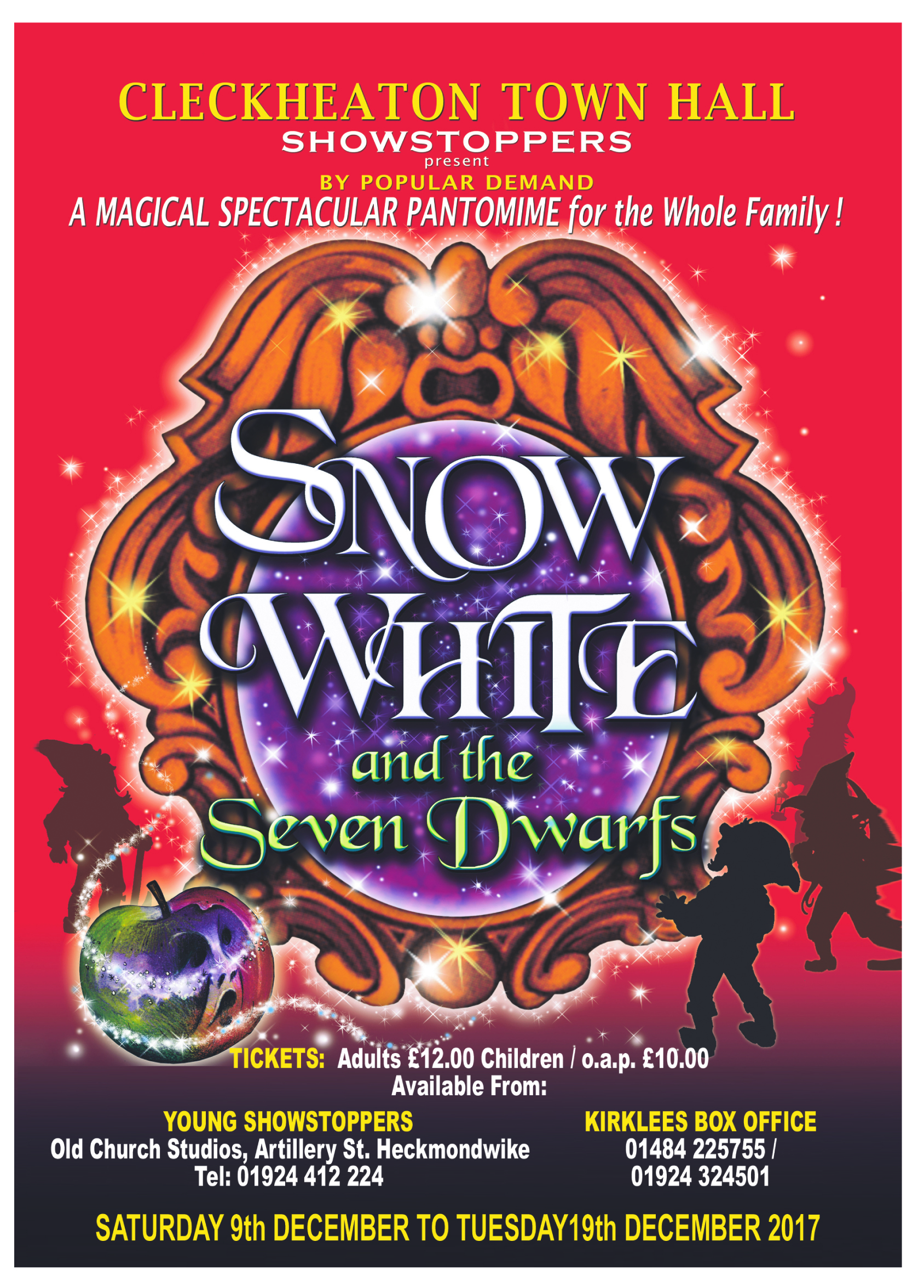 "Showstoppers present ""Snow White"""