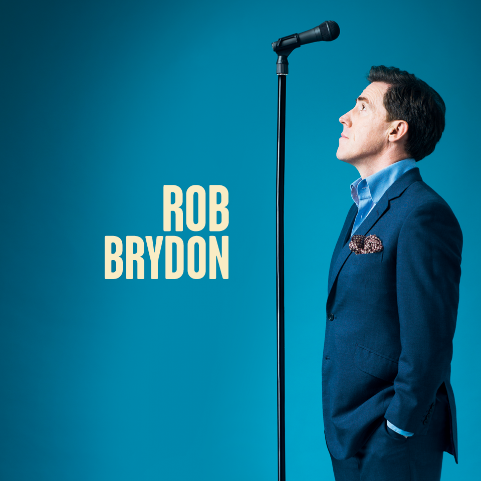 We're delighted to welcome Rob Brydon to Huddersfield Town Hall for the very first time! Tickets on Sale 10am Fri 4th August