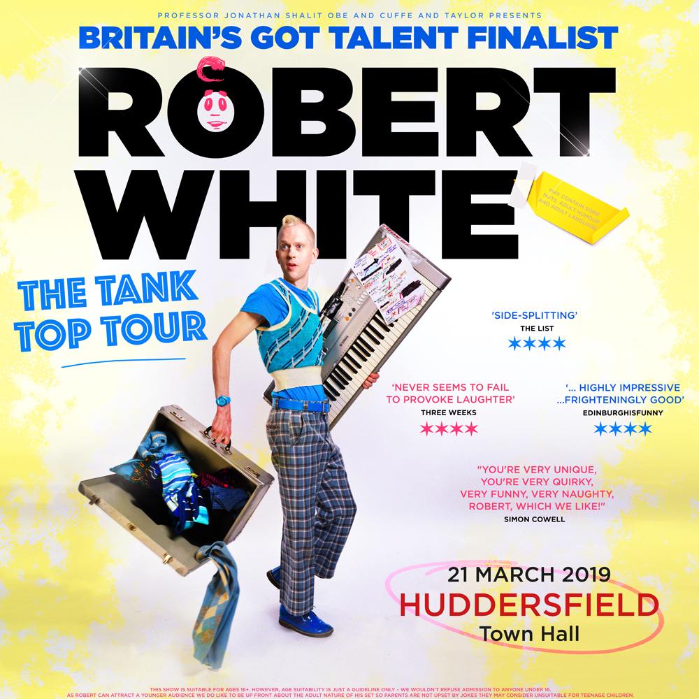 Huddersfield Town Hall - Thursday 21st March 2019 - 7.30pm