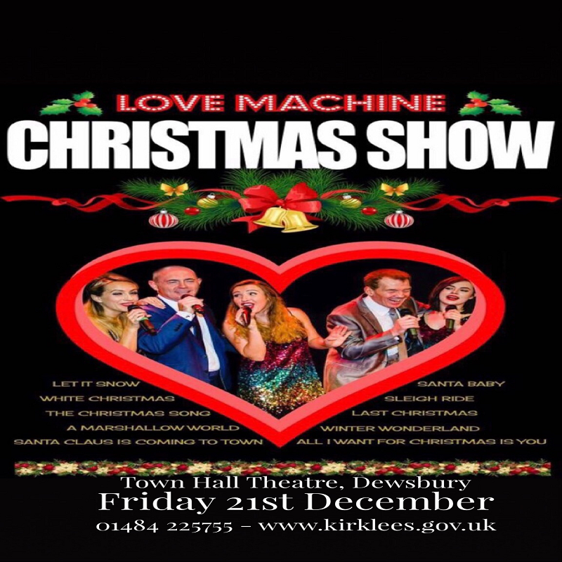 Dewsbury Town Hall - Friday 21st December - 7.30pm